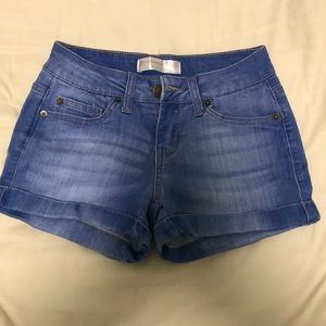 No Boundaries blue shorts